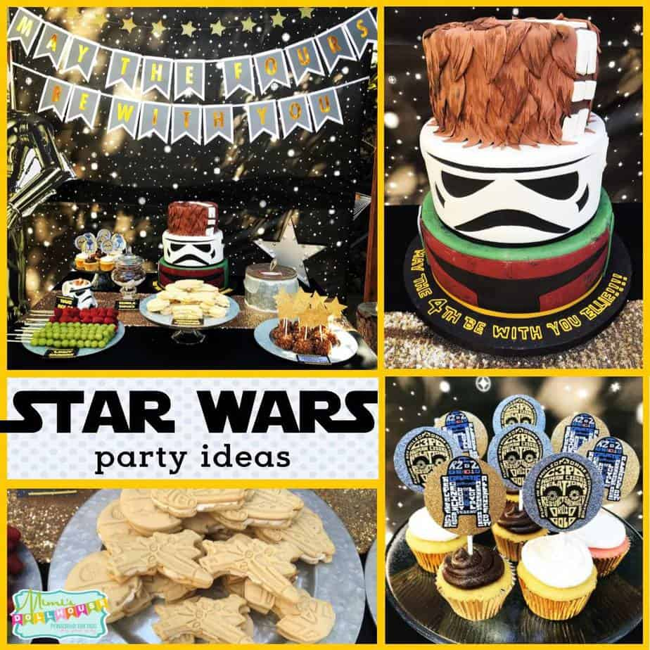 Star Wars Party Decorations: May The FOURS Be With You