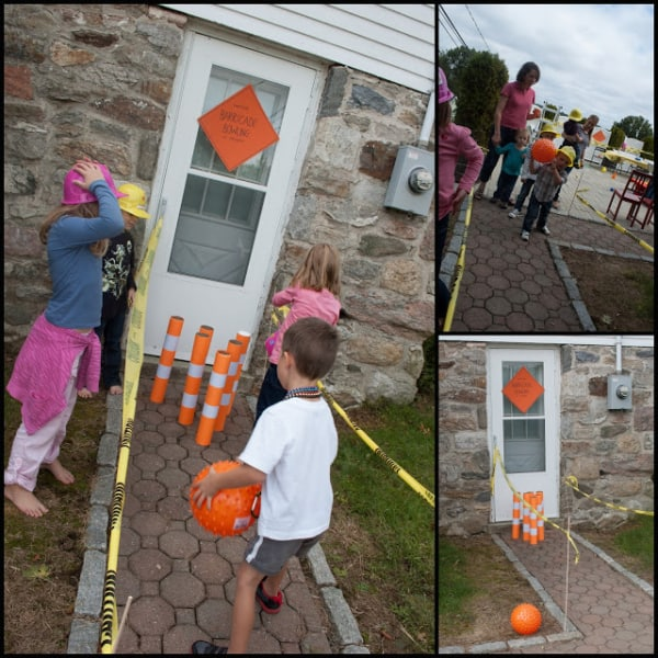 construction themed party games