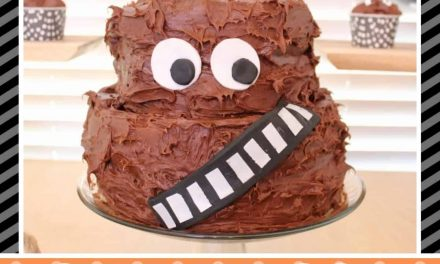 Star Wars: How to make a Chewbacca Cake