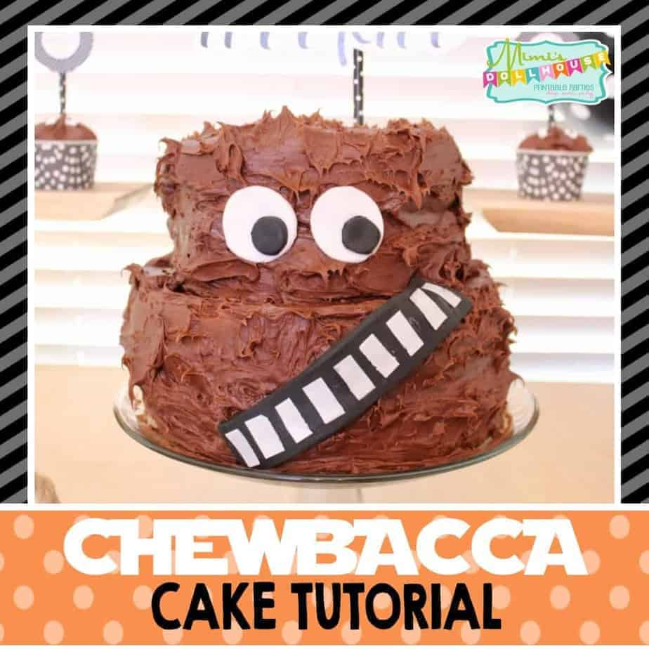 Star Wars How To Make A Chewbacca Cake Mimis Dollhouse