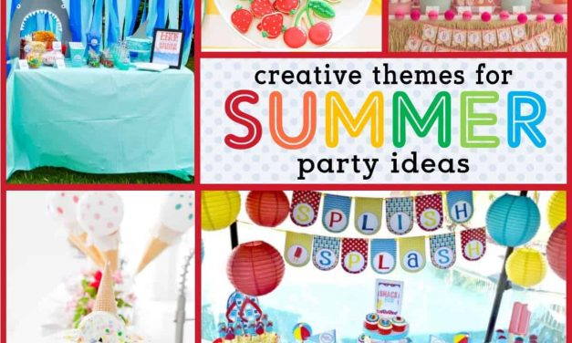 Keep Cool with these Hot Summer Party Themes