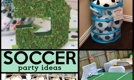 Kicking Soccer Party Ideas + Decorations
