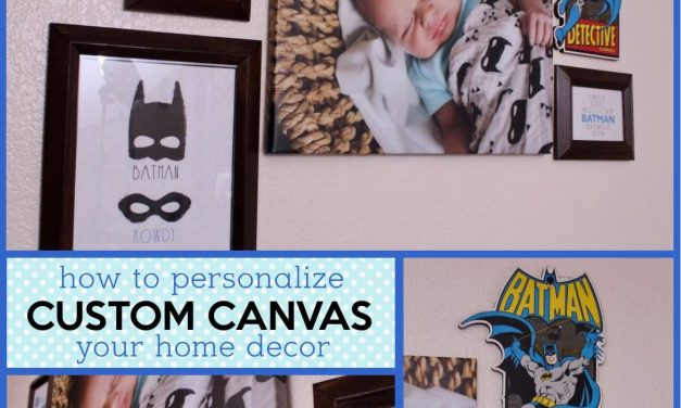 How to Personalize your Home Decor with a Custom Canvas