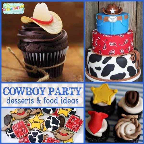 Cowboy Birthday Party Cowboy Themed Desserts Mimis Dollhouse