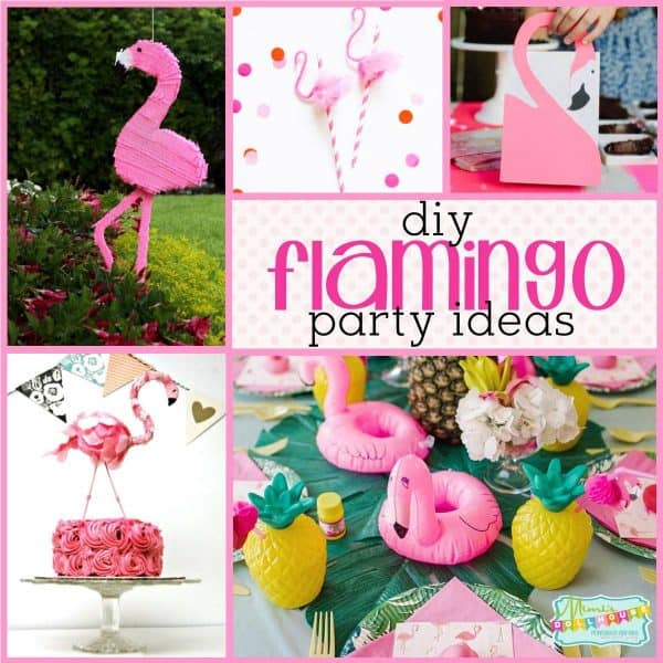 Complete set baby/'s first year pink flamingos theme