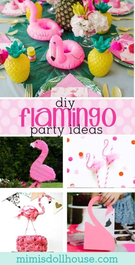 Flamingle Party: This season's hottest DIY Flamingo Party Ideas.  Want the perfect theme for summer? Let's flamingle with a fantastic flamingo party!  Today I'm sharing some amazing DIY flamingo decorations and ideas for a flamingle party.  Looking for flamingo desserts?  Be sure to also check out this pink flamingo party and flamingo party themes. We also have tons of other parties for girls.