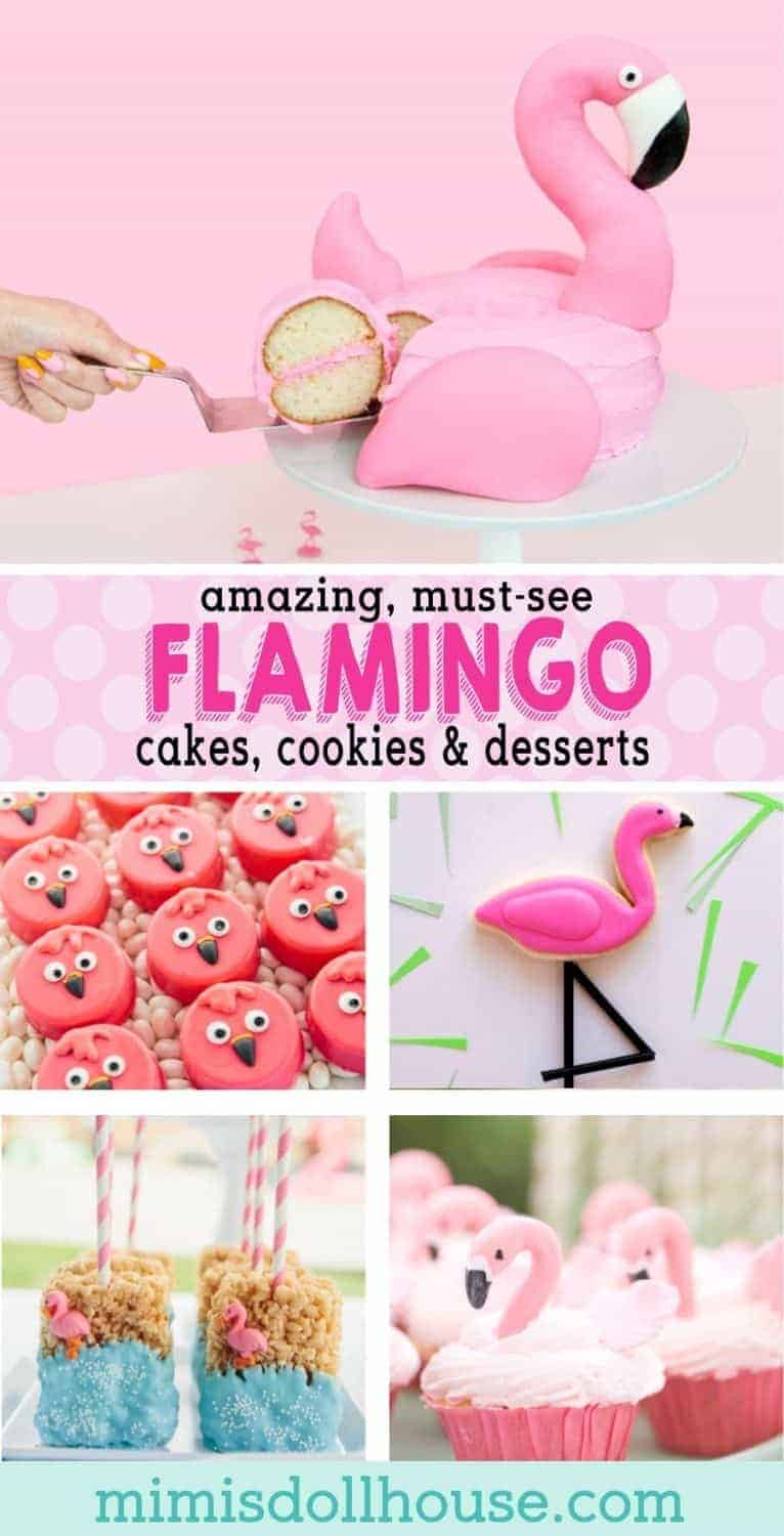 Want to throw the hottest party of the season? Style your next baby shower or birthday party flamingo style with these cute flamingo birthday cake ideas and flamingo baby shower desserts. Looking for a sweetly styled pink flamingo party? Be sure to also check out our diy flamingo party ideas and flamingo party themes. #parties #partyideas #girlsparty #kidsbirthday #flamingo #flamingoparty #crafts #falmingocake #cookies #cake