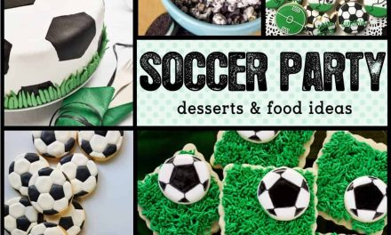 Soccer Party: 10 Game Winning Soccer Desserts