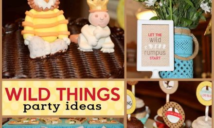 Wild Things Baby Shower: Where the Wild Things Are Party