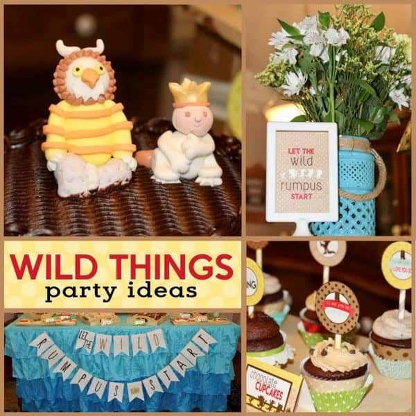 Looking For Where The Wild Things Birthday Party Ideas Be Sure To Also Check Out All Of Our Baby Shower And Boy