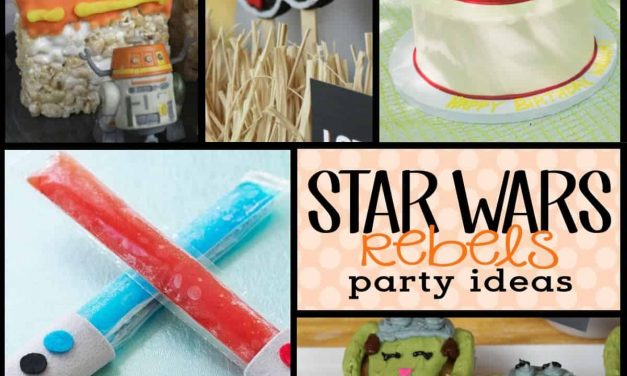 Star Wars Rebels:  Ideas for a Star Wars Rebels Party