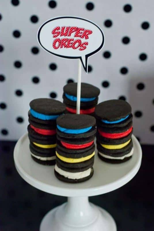 Superhero Party Food Ideas Amazing Desserts Amp Superhero