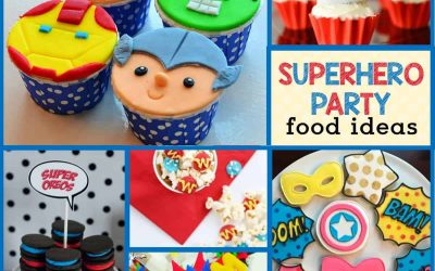Superhero Party Food Ideas: Amazing Desserts & Superhero Snacks