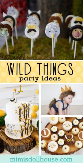 Wild One Birthday Party: Where the Wild Things Are Cake, Decor and More!!  Wild Things is one of the hottest trends in birthday parties.  Check out these amazing wild things ideas and wild one birthday party inspiration to share today.