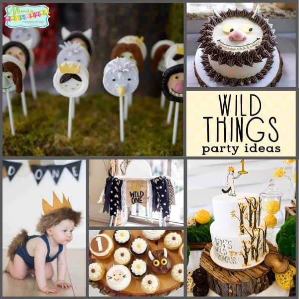 Wild One Birthday Party Where The Wild Things Are Cake Decor And