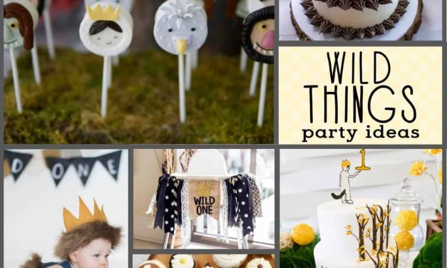 Wild One Birthday Party: Where the Wild Things Are Cake, Decor and More!!