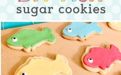 Fishing Party: DIY Fish Cookies