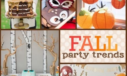 Fall Party Trends You'll Want to Try