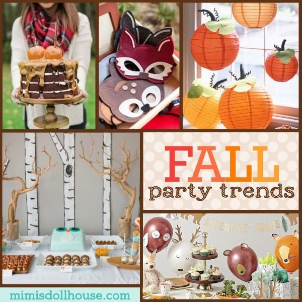 Stupendous Trending Fall Party Ideas Amazing Fall Party Themes Mimis Funny Birthday Cards Online Fluifree Goldxyz