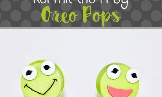 Muppet Babies: Kermit the Frog Oreo Pops