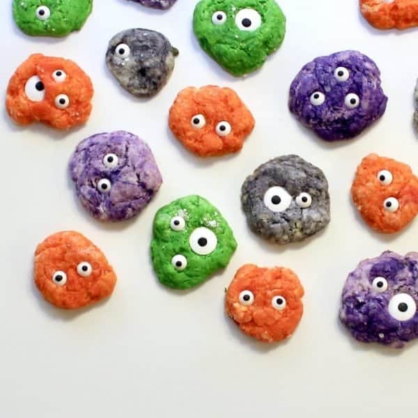 DIY Monster Eyeball Cookies