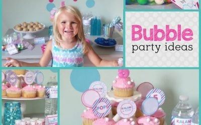 Bubbles Birthday Party: Bright and Bubbly Birthday