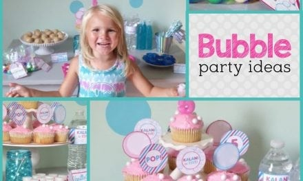 Bubbles Birthday Party: Bright and Bubbly Birthday