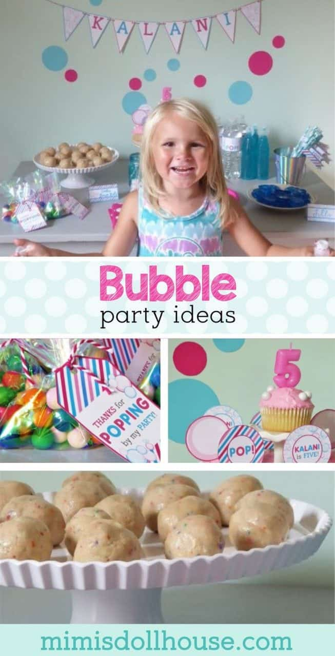 Bubbles Birthday Party: Bright and Bubbly Birthday. Nothing says happy birthday quite like a bubble party. Check out this adorable bubble birthday party and all the bright and bubbly details.#parties #kidbirthday #bubbles #bubbleparty #girlbirthday #birthdays