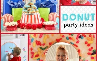 Donut Birthday Party: It's Doughnut Time!