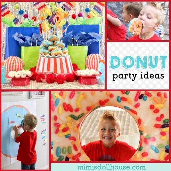 Donut Birthday Party It S Doughnut Time Mimi S Dollhouse