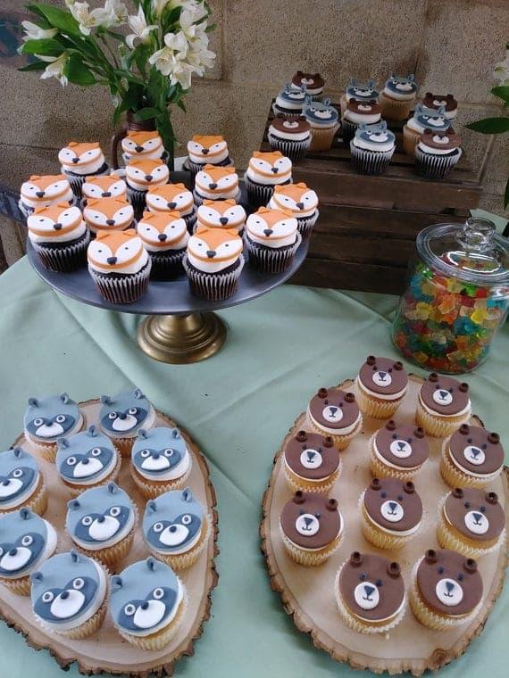 Woodland cake pops #woodlandcupcakes |Woodland Cake Balls