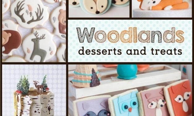 Woodlands Dessert Ideas: Fox Cookies, Bear Cakes and More!
