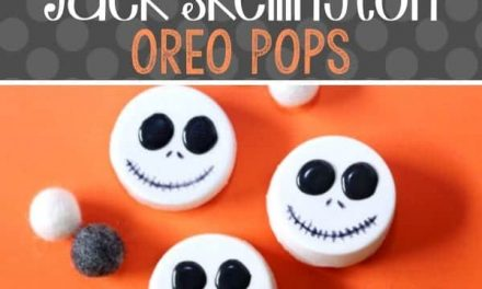 DIY Jack Skellington Cookies for Halloween