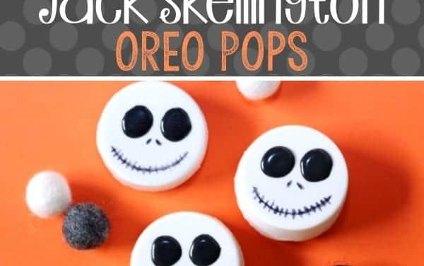 Halloween: DIY Jack Skellington Oreo Pops