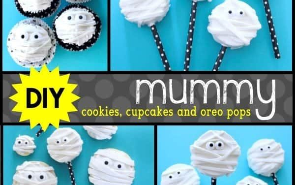 Halloween: Mummy Cupcakes, Cookies & Oreo Pops, OH MY!