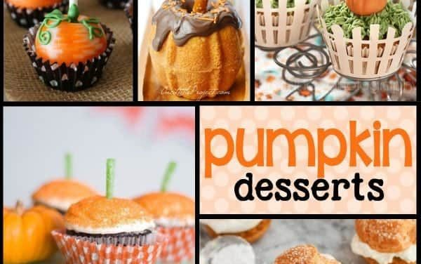 Pumpkin Desserts: Pumpkin Party Food Ideas