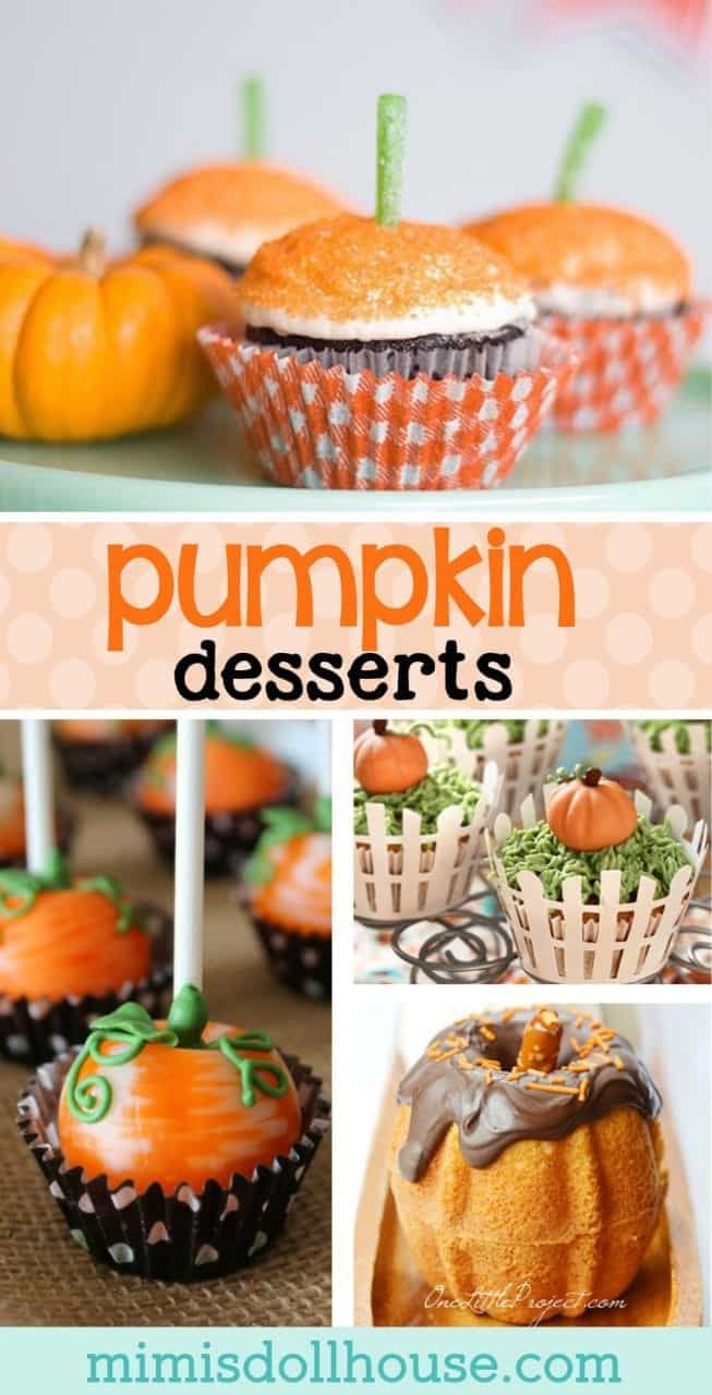Pumpkin Recipes: Pumpkin Party Food Ideas. Yummy pumpkin recipes and pumpkin desserts to set your pumpkin party apart from the rest!  #fall #autumn #halloween #thanksgiving #pumpkin #parties #baking #desserts #partyideas