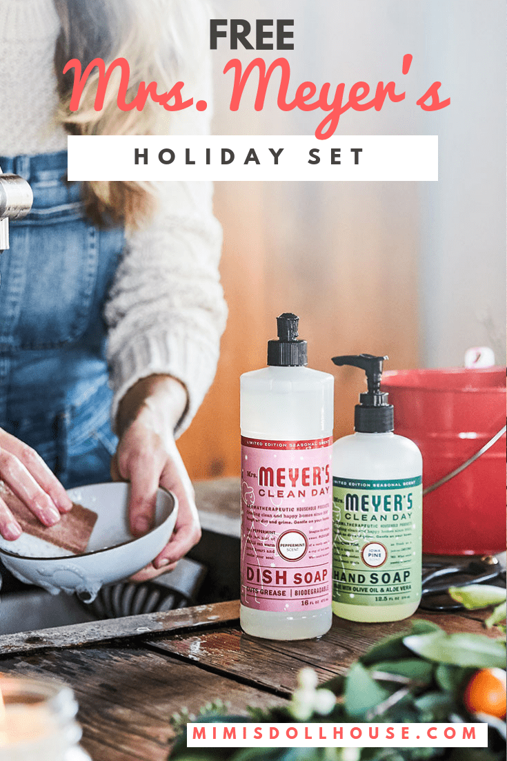 Grab your Free Mrs. Meyers Holiday Cleaning Set. Your home can stay clean and smell amazing with Mrs. Meyers and Grove Collaborative. I'm sharing an amazing opportunity forfree Mrs. Meyer's cleaning productstoday from Grove Collaborative. #holiday #cleaning #home #mrsmeyers #free #peppermint #grove