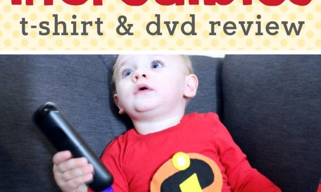 Incredibles 2: Incredibles Shirt Tutorial & Blu-Ray Review