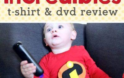 Incredibles 2: Incredibles Shirt Tutorial & Blu-Ray Review