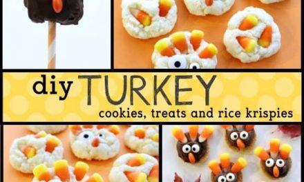 Thanksgiving Turkey Treats: DIY Turkey Desserts