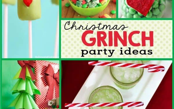Grinch Party Ideas + Grinch Desserts for Christmas