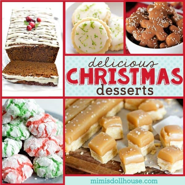 Christmas Desserts Festive Traditional Christmas Treats Mimi S