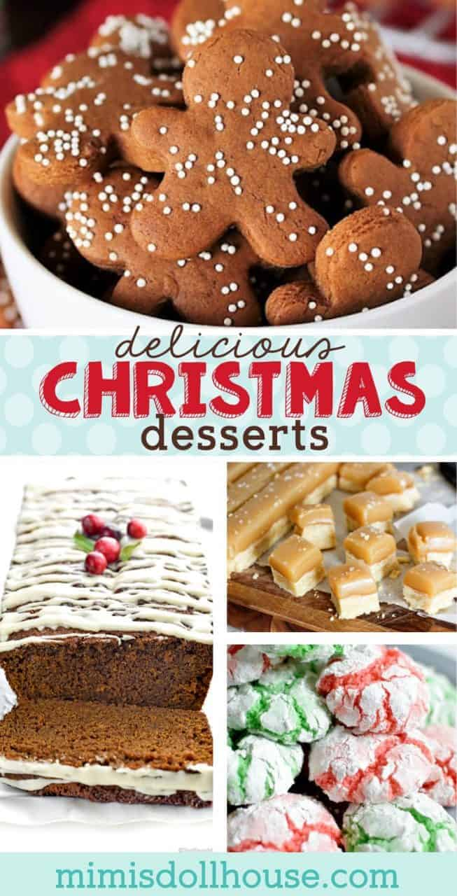Christmas Desserts: Festive Traditional Christmas Treats. Amazing Christmas Desserts are one of the best parts of Christmas. Baking Traditional and unique Christmas treats for holiday parties and Christmas dinner is delicious fun for the whole family. #baking #christmas #holiday #cookies #winter #parties #holidaybaking #christmasbaking #desserts #treats #recipes