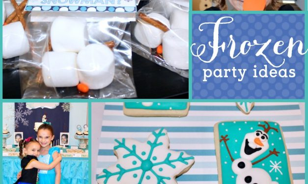 Frozen Birthday Party: Olaf themed Frozen Birthday