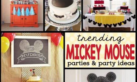 Trending Mickey Mouse Birthday Parties