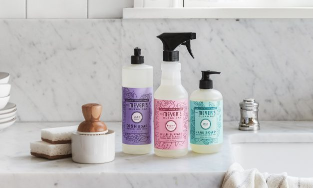 Let Mrs. Meyer's Spring Scents Freshen your Home