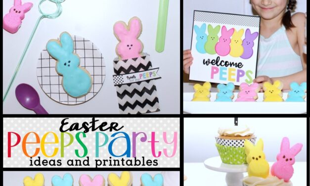 Peep Party + Fun Peeps Ideas For Easter