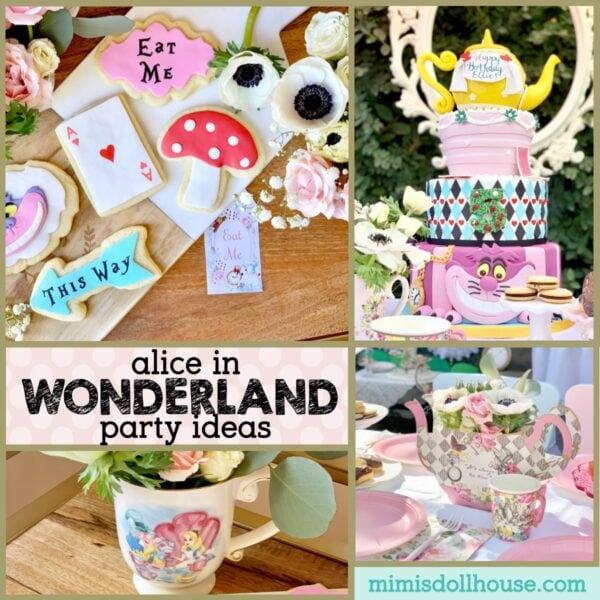 Alice In Wonderland Tea Party Mimi S Dollhouse