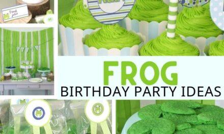 Fun + Budget Friendly Frog Birthday Party